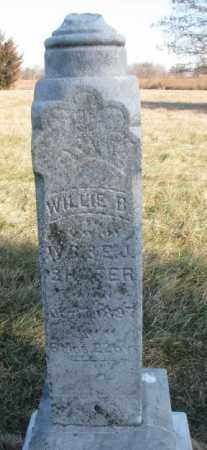 SHAFER, WILLIE B. - Burt County, Nebraska | WILLIE B. SHAFER - Nebraska Gravestone Photos