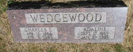 WEDGEWOOD, CHARLES E. - Burt County, Nebraska   CHARLES E. WEDGEWOOD - Nebraska Gravestone Photos