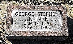 JELINEK, GEORGE STEPHEN - Butler County, Nebraska | GEORGE STEPHEN JELINEK - Nebraska Gravestone Photos