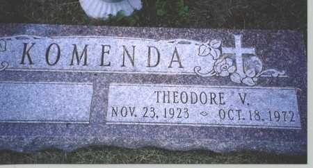 KOMENDA, THEODORE V. - Butler County, Nebraska | THEODORE V. KOMENDA - Nebraska Gravestone Photos