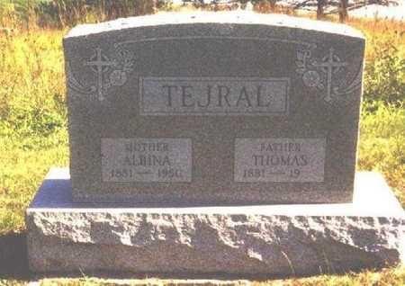 TEJRAL, THOMAS FRANK - Butler County, Nebraska | THOMAS FRANK TEJRAL - Nebraska Gravestone Photos