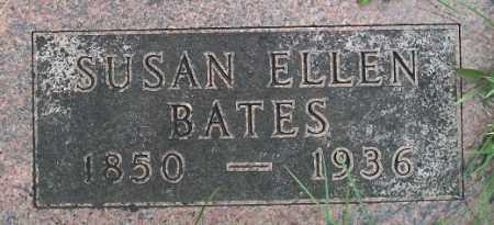 BATES, SUSAN ELLEN - Cass County, Nebraska   SUSAN ELLEN BATES - Nebraska Gravestone Photos