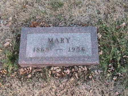 HORN BECKER, MARY - Cass County, Nebraska   MARY HORN BECKER - Nebraska Gravestone Photos
