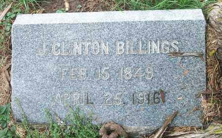 BILLINGS, J CLINTON - Cass County, Nebraska | J CLINTON BILLINGS - Nebraska Gravestone Photos