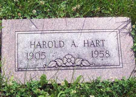 HART, HAROLD - Cass County, Nebraska   HAROLD HART - Nebraska Gravestone Photos
