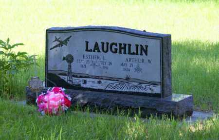 LAUGHLIN, ESTHER L. - Cass County, Nebraska | ESTHER L. LAUGHLIN - Nebraska Gravestone Photos