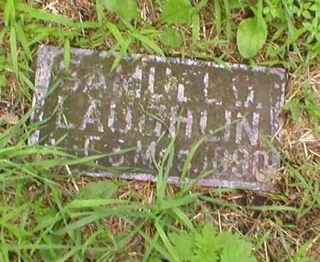 LAUGHLIN, SAMUEL - Cass County, Nebraska | SAMUEL LAUGHLIN - Nebraska Gravestone Photos