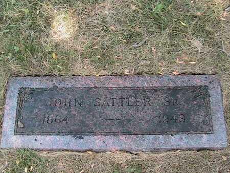 SATTLER, JOHN - Cass County, Nebraska | JOHN SATTLER - Nebraska Gravestone Photos