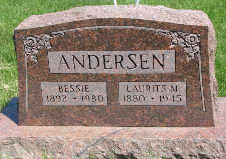ANDERSEN, LAURITS M. - Cedar County, Nebraska | LAURITS M. ANDERSEN - Nebraska Gravestone Photos