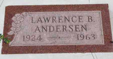 ANDERSEN, LAWRENCE B. - Cedar County, Nebraska   LAWRENCE B. ANDERSEN - Nebraska Gravestone Photos