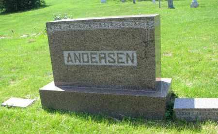 ANDERSEN, PLOT (SARAH & ANDREW) - Cedar County, Nebraska | PLOT (SARAH & ANDREW) ANDERSEN - Nebraska Gravestone Photos