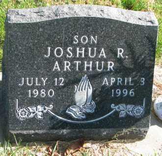 ARTHUR, JOSHUA R. - Cedar County, Nebraska   JOSHUA R. ARTHUR - Nebraska Gravestone Photos