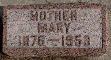 HEIMES BANGE, MARY - Cedar County, Nebraska | MARY HEIMES BANGE - Nebraska Gravestone Photos