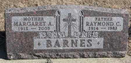 BARNES, RAYMOND C. - Cedar County, Nebraska | RAYMOND C. BARNES - Nebraska Gravestone Photos