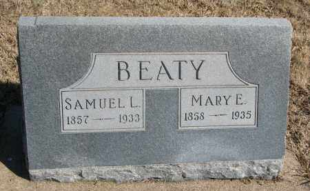 BEATY, SAMUEL L. - Cedar County, Nebraska | SAMUEL L. BEATY - Nebraska Gravestone Photos