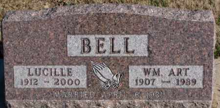 BELL, WM. ART - Cedar County, Nebraska | WM. ART BELL - Nebraska Gravestone Photos