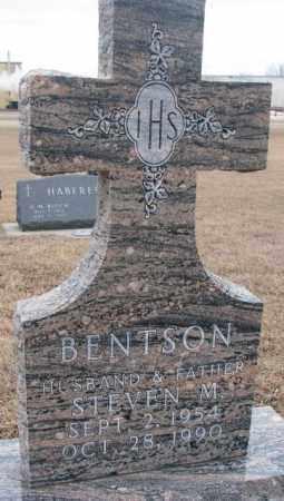 BENTSON, STEVEN M. - Cedar County, Nebraska | STEVEN M. BENTSON - Nebraska Gravestone Photos