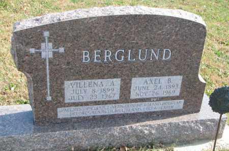 BERGLUND, AXEL B. - Cedar County, Nebraska | AXEL B. BERGLUND - Nebraska Gravestone Photos