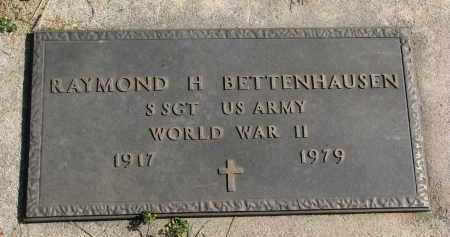 BETTENHAUSEN, RAYMOND H. (WW II) - Cedar County, Nebraska | RAYMOND H. (WW II) BETTENHAUSEN - Nebraska Gravestone Photos