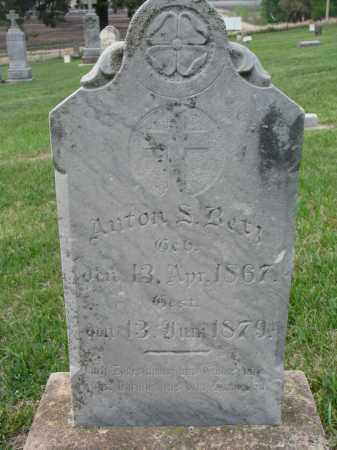 BETZ, ANTON S. - Cedar County, Nebraska | ANTON S. BETZ - Nebraska Gravestone Photos