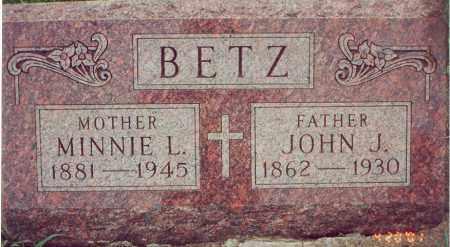 BETZ, JOHN J. - Cedar County, Nebraska | JOHN J. BETZ - Nebraska Gravestone Photos