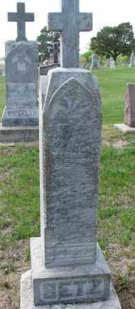 BETZ, MARY - Cedar County, Nebraska | MARY BETZ - Nebraska Gravestone Photos