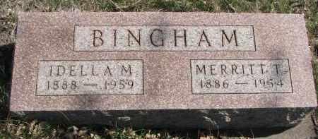 MCGEE BINGHAM, IDELLA M. - Cedar County, Nebraska | IDELLA M. MCGEE BINGHAM - Nebraska Gravestone Photos