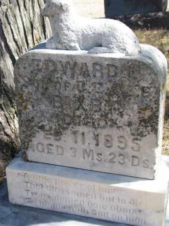 BIXBY, EDWARD L. - Cedar County, Nebraska   EDWARD L. BIXBY - Nebraska Gravestone Photos