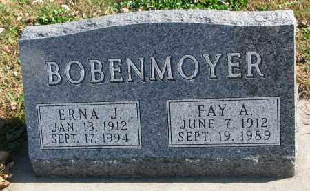 BOBENMOYER, FAY A. - Cedar County, Nebraska | FAY A. BOBENMOYER - Nebraska Gravestone Photos