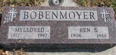 BOBENMOYER, REN S. - Cedar County, Nebraska | REN S. BOBENMOYER - Nebraska Gravestone Photos