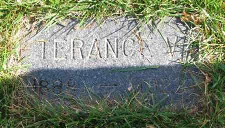 BOREN, TERRANCE V. - Cedar County, Nebraska   TERRANCE V. BOREN - Nebraska Gravestone Photos