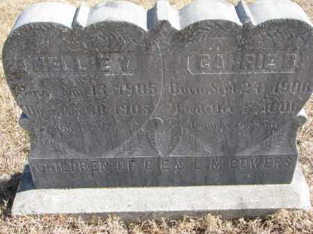 BOWERS, CARRIE B. - Cedar County, Nebraska | CARRIE B. BOWERS - Nebraska Gravestone Photos