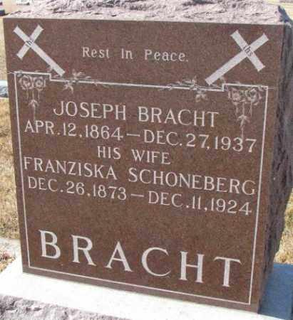 SCHONEBERG BRACHT, FRANZISKA - Cedar County, Nebraska | FRANZISKA SCHONEBERG BRACHT - Nebraska Gravestone Photos