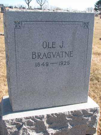 BRAGVATNE, OLE J. - Cedar County, Nebraska | OLE J. BRAGVATNE - Nebraska Gravestone Photos