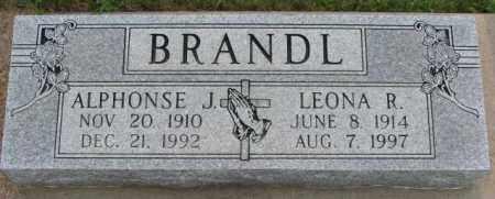 BRANDL, ALPHONSE J. - Cedar County, Nebraska   ALPHONSE J. BRANDL - Nebraska Gravestone Photos