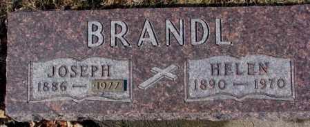 BRANDL, JOSEPH - Cedar County, Nebraska | JOSEPH BRANDL - Nebraska Gravestone Photos