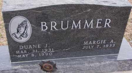 BRUMMER, DUANE J. - Cedar County, Nebraska | DUANE J. BRUMMER - Nebraska Gravestone Photos