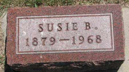 BUCHANAN, SUSIE B. - Cedar County, Nebraska | SUSIE B. BUCHANAN - Nebraska Gravestone Photos