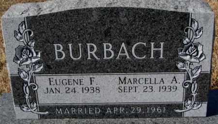BURBACH, EUGENE F. - Cedar County, Nebraska   EUGENE F. BURBACH - Nebraska Gravestone Photos