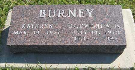 BURNEY, DWIGHT W. JR. - Cedar County, Nebraska | DWIGHT W. JR. BURNEY - Nebraska Gravestone Photos