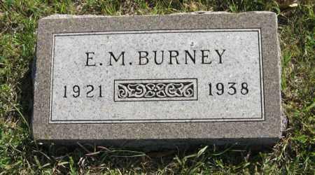 BURNEY, E. M. - Cedar County, Nebraska | E. M. BURNEY - Nebraska Gravestone Photos