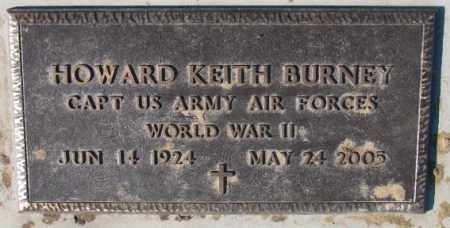 BURNEY, HOWARD KEITH (WW II) - Cedar County, Nebraska | HOWARD KEITH (WW II) BURNEY - Nebraska Gravestone Photos