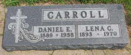 CARROLL, LENA C. - Cedar County, Nebraska | LENA C. CARROLL - Nebraska Gravestone Photos