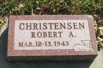 CHRISTENSEN, ROBERT A. - Cedar County, Nebraska   ROBERT A. CHRISTENSEN - Nebraska Gravestone Photos