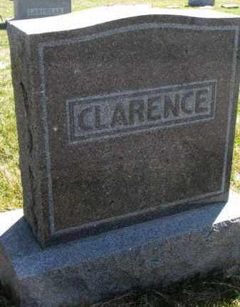 CLARENCE, FAMILY STONE - Cedar County, Nebraska | FAMILY STONE CLARENCE - Nebraska Gravestone Photos