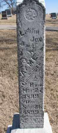 COMBELLICK, LETITIA JOY - Cedar County, Nebraska | LETITIA JOY COMBELLICK - Nebraska Gravestone Photos