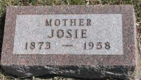 CONNELLY, JOSIE - Cedar County, Nebraska | JOSIE CONNELLY - Nebraska Gravestone Photos