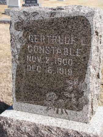 CONSTABLE, GERTRUDE L. - Cedar County, Nebraska | GERTRUDE L. CONSTABLE - Nebraska Gravestone Photos