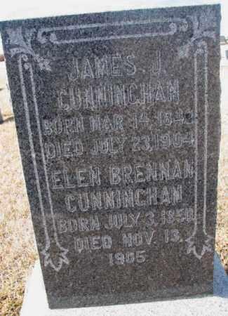 BRENNAN CUNNINGHAM, ELEN - Cedar County, Nebraska | ELEN BRENNAN CUNNINGHAM - Nebraska Gravestone Photos