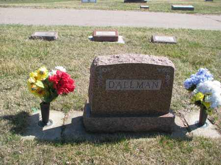 DALLMAN, FAMILY PLOT - Cedar County, Nebraska | FAMILY PLOT DALLMAN - Nebraska Gravestone Photos